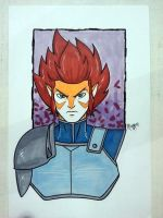 New Thundercats Liono Commission by RichBernatovech
