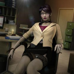Tied to her Desk By Lord Storm and Bowski by Count-Phoenix