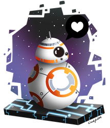 BB-8 by CloudyZu