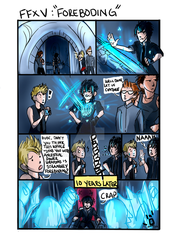 FFXV - Foreboding (Story Spoiler!) by ChicaChapa