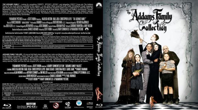Blu-ray - Addams Family Collection by Morsoth