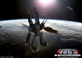 SDF-1 Macross live action by asgard-knight