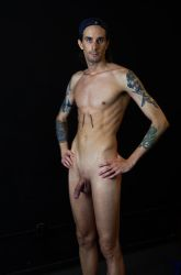 standing nude 1 by lamPkin