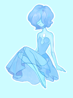 Blue Pearl by Rosyforest