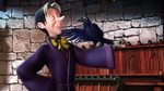 Sorcerer Cedric And Wormwood Raven by YesiEguia