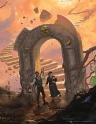 Eldritch Horror: The Dreamlands (Detail Crop) by JakeMurray