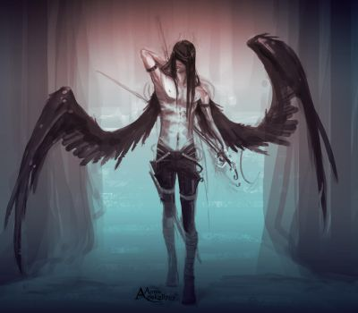 +Angel of death+ by DAggERnoGod