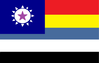 The Chinese Federation Flag by thegerman15