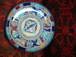 Multani BluePottery by zamir