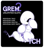 Grem2 YCH - closed for this week by KngCorvidae