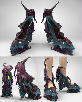 Monster heels by zerojs