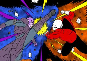 [DBS] Hit, The Assassin vs Jiren, The Grey by Cheetah-King