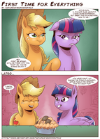 First Time For Everything by saturdaymorningproj