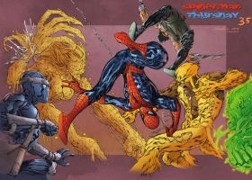 Spider-Man Thursday 35 - Pask colors by SpiderGuile