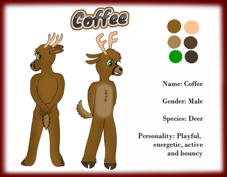 Coffee ref sheet by RascalTheFox