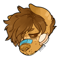 headshot commission by MajorPiece