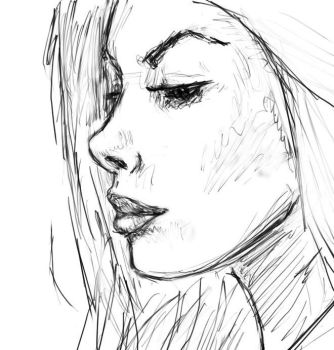 Girl from Reference by pacificmaelstrom