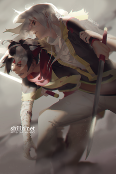 We will get through this together - patreon piece by shilin