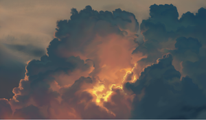 11 Cloud study by LadyChamomile