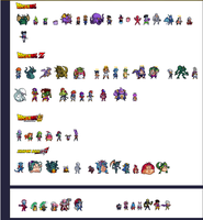 Dragon Ball Sprites LSW/ULSW/Other by suten94
