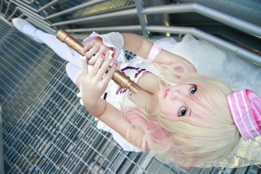 Macross Frontier - CD cover Sheryl by Xeno-Photography