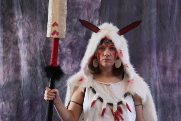 Princess Mononoke by browniewaseaten