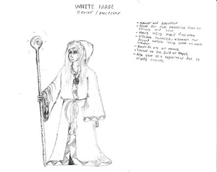 White Mage concept by Jay-Hawkeye