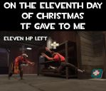 Eleventh day of christmas by Nikolad92