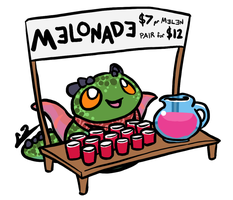 The Melonade Stand by Incoherrant