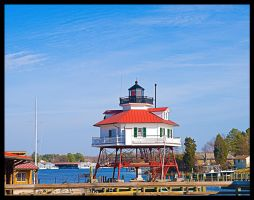 Drum Point Lighthouse by slephoto
