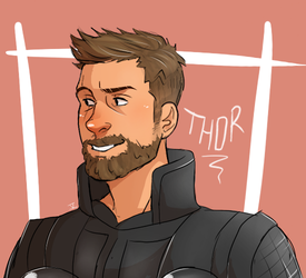 Thor by SarcastiCoyotte