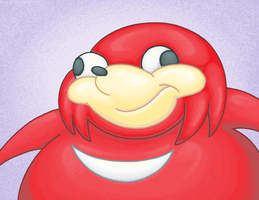Ugandan Knuckles. by Virus-20