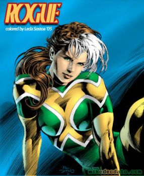 Mike Deodato Jr's Rogue by BerenicePotter