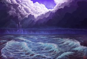 Pluto Environment Concept Commission - Egodrift by Solfour
