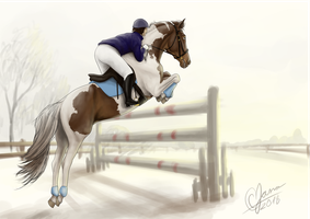 HARPG | Crosby's GP Showjumping Clinic - day 7 by C-Creatio