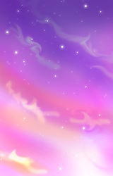 Colorful Starry Sky Background by silver-eyes-blue