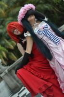 Lady ciel x Madame red by ButtersAnKau