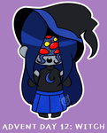 Loveling Advent Day 12: Witch [ PRECLAIMED ] by MillenniaFortuna