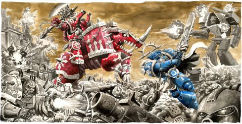 Warhammer 40000 by mistermoster