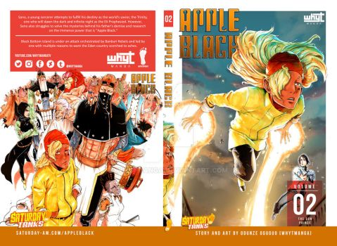 Apple Black Volume Two Cover by WhytManga