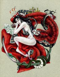 Thus the heart begets demons by john-n-mary