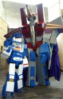 Lord Starscream and Soundwave by Scream01