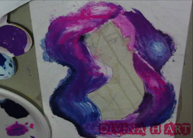Universe girl W.I.P.#4 by Divina-H-ART