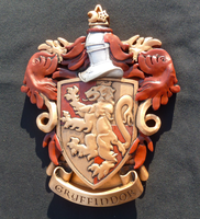 Gryffindor Coat of Arms by Livinlern