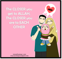 Blessed Family 1 by littleMuslimah