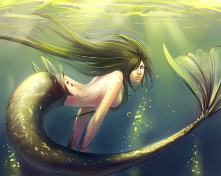 Mermaid. by moni158