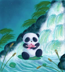 Panda Lilly by parochena