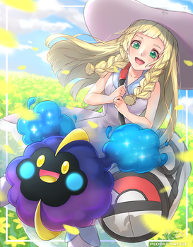 Lillie and Nebby by mmidori31