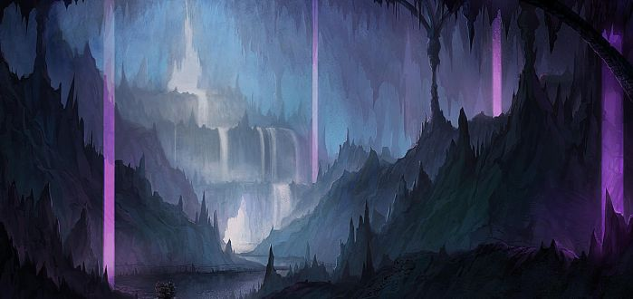 Ice Cavern by yagaminoue