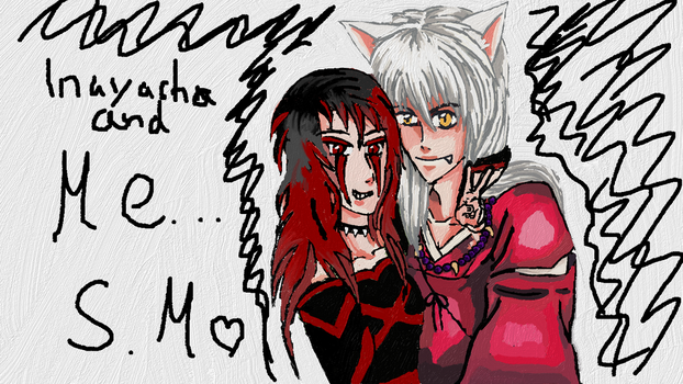 Me And Inuyasha by FLASHER12